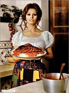 Italiaanse Mama a la cucina!